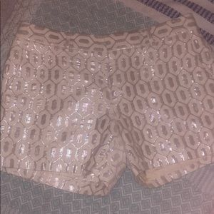 Sparkle n Shine Banana Republic dress shorts